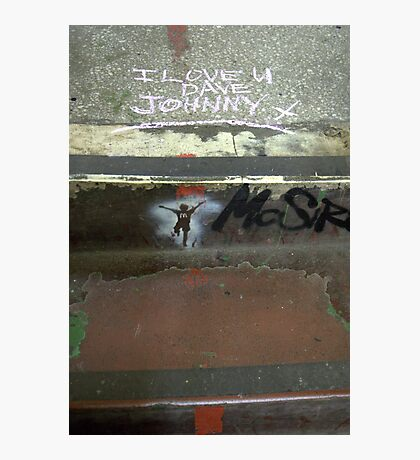 I Love you Dave (Johnny) Photographic Print