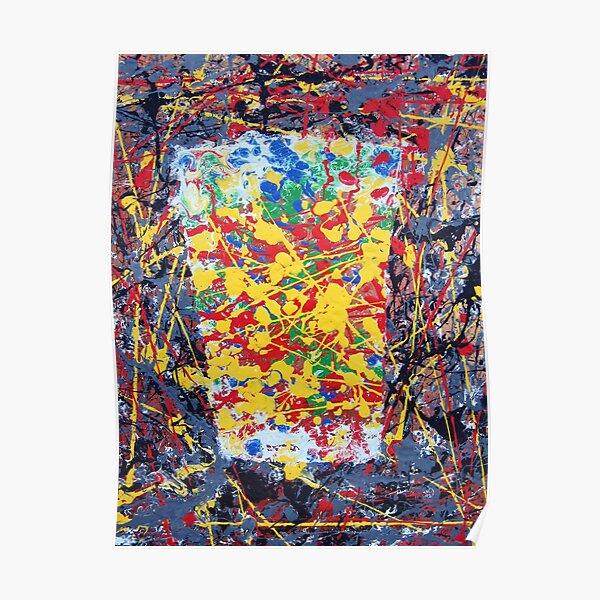 Jackson Pollock Pint Poster