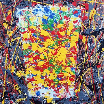 Jackson Pollock Pint by realartisbetter