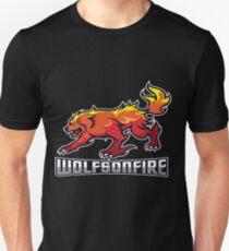 WolfsOnFire Official Logo (16:9) Unisex T-Shirt