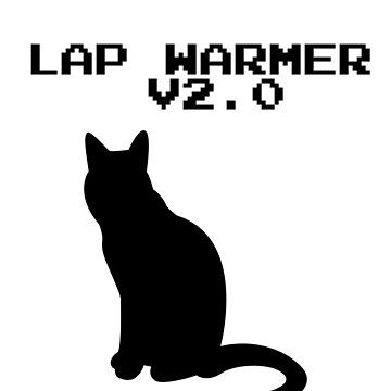 FUNNY CAT - LAP WARMER V2.0 by nathio