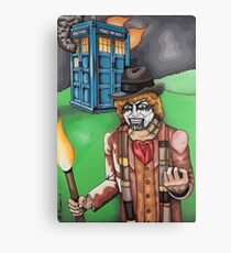 F*** Dr. Who Canvas Print