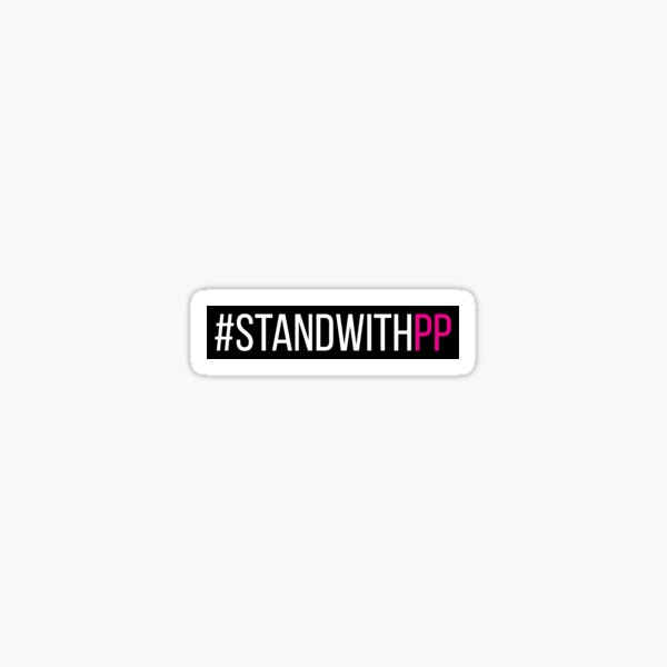 #StandWithPP version1 Sticker
