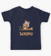 Sunday Owl Kids Tee