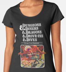 Dungeons & Diners & Dragons & Drive-Ins & Dives: Etwas größeres Bild Premium Rundhals-Shirt