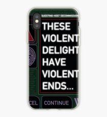 Violent Delights Interface iPhone Case