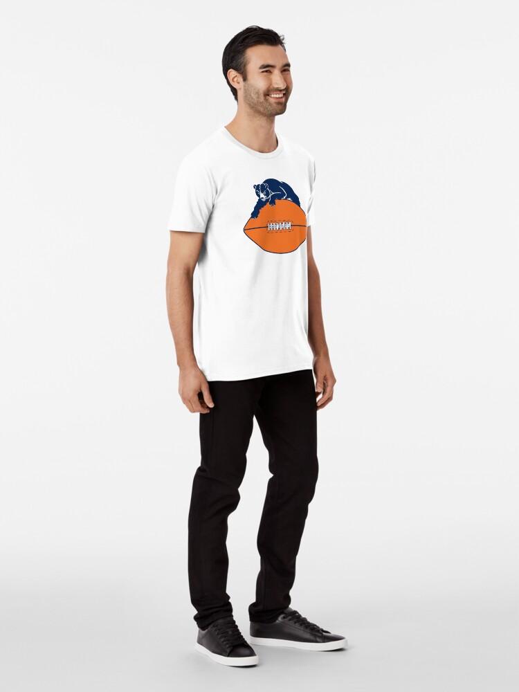 Alternate view of chicago bears t shirts Premium T-Shirt