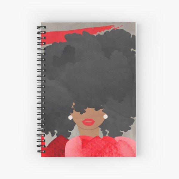 SITTING PRETTY (RED) Spiral Notebook