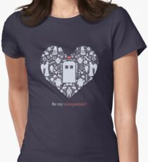 Be my companion? Women's Fitted T-Shirt