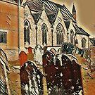 St Mary's Church Horsham by Terry Collett