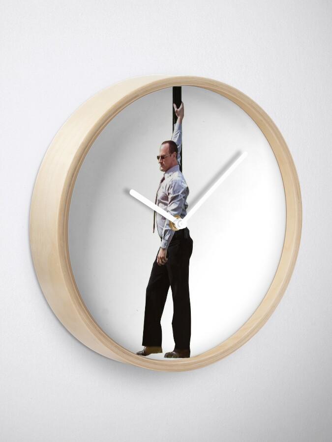 Alternate view of Detective Stabler Clock