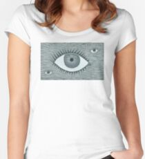 The Eyes Have It Women's Fitted Scoop T-Shirt