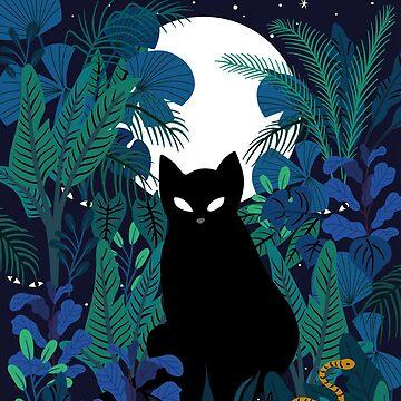 mystical cat by anyuka