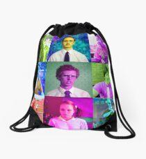 Dynamite Gang Collage Drawstring Bag