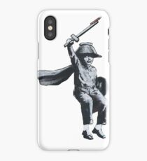 "Banksy Hull ""Draw the Raised Bridge!"" iPhone Case/Skin"