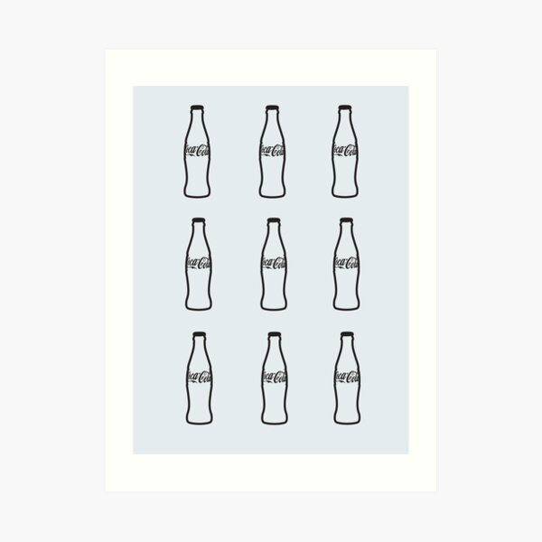 Coca Cola Bottle Art Print