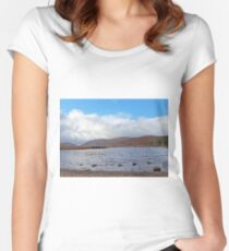 Glenveagh National Park Donegal Ireland Women's Fitted Scoop T-Shirt