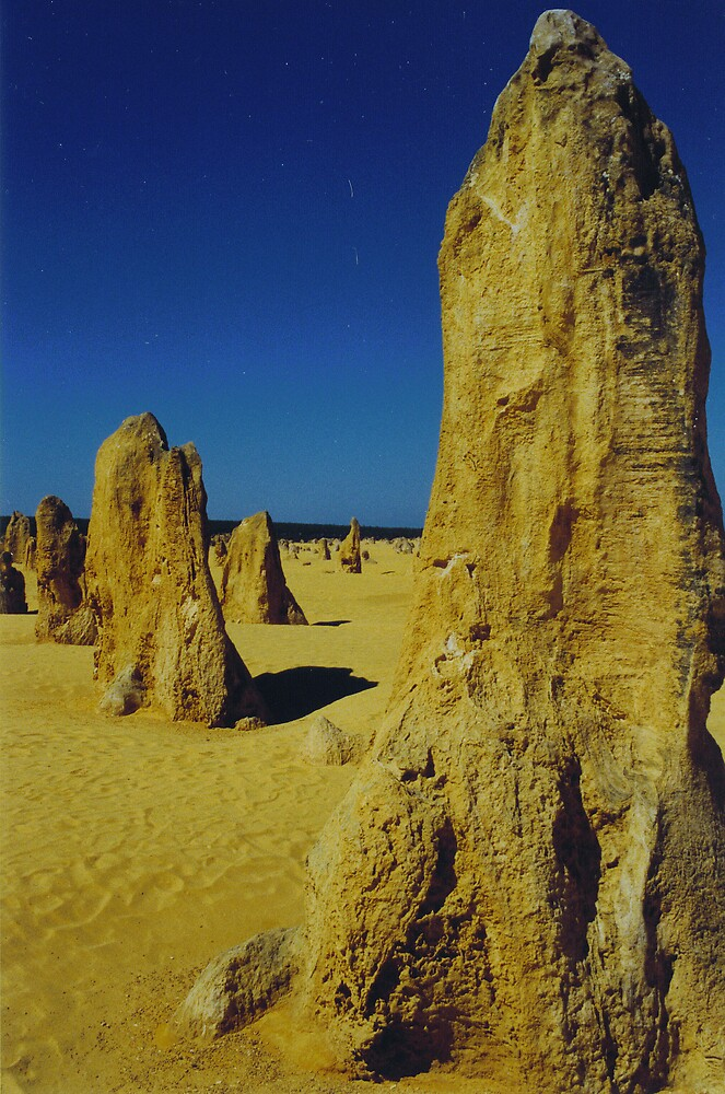 The Pinnacles by mstrasse