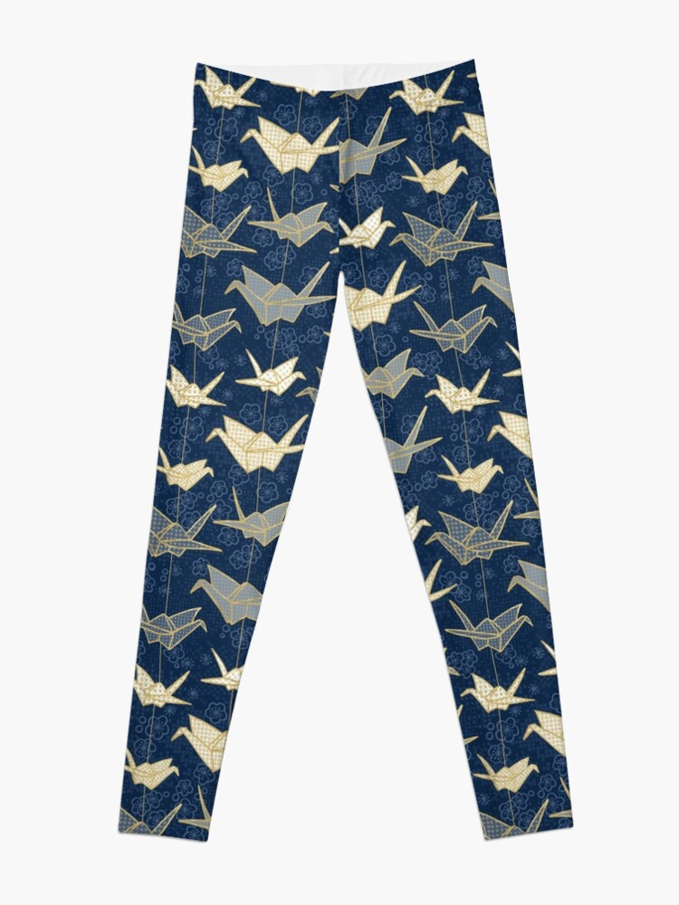 Alternate view of Sadako's Good Luck Cranes Leggings
