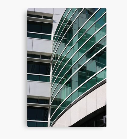 Reflections in the WIndows Canvas Print