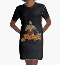 Lebron James Unofficial Graphic T-Shirt Dress
