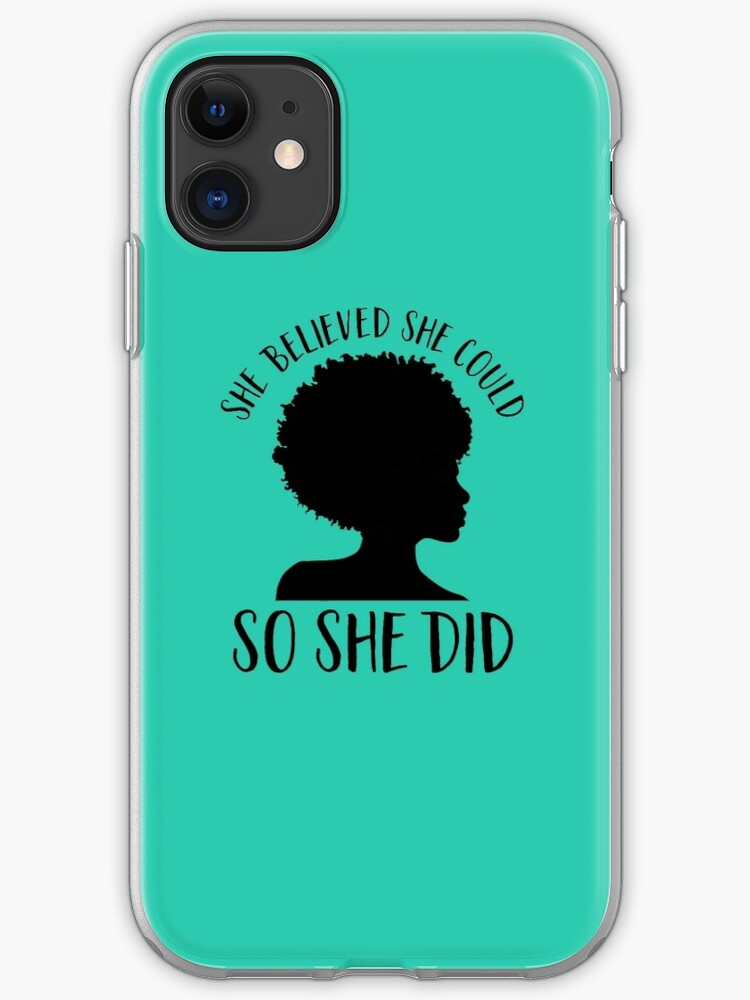 Black Pride Design For Women Melanin Queen She Believed She