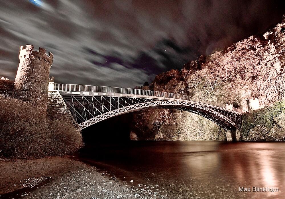 Craigellachie Bridge, Speyside by Max Blinkhorn