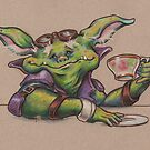 Goblin Tea Time by justteejay
