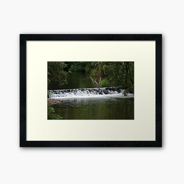 River Framed Art Print
