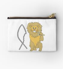 feed them to the lions Studio Pouch