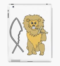 feed them to the lions iPad Case/Skin