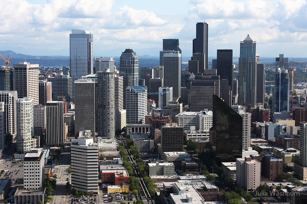 Downtown Seattle by Julia Washburn