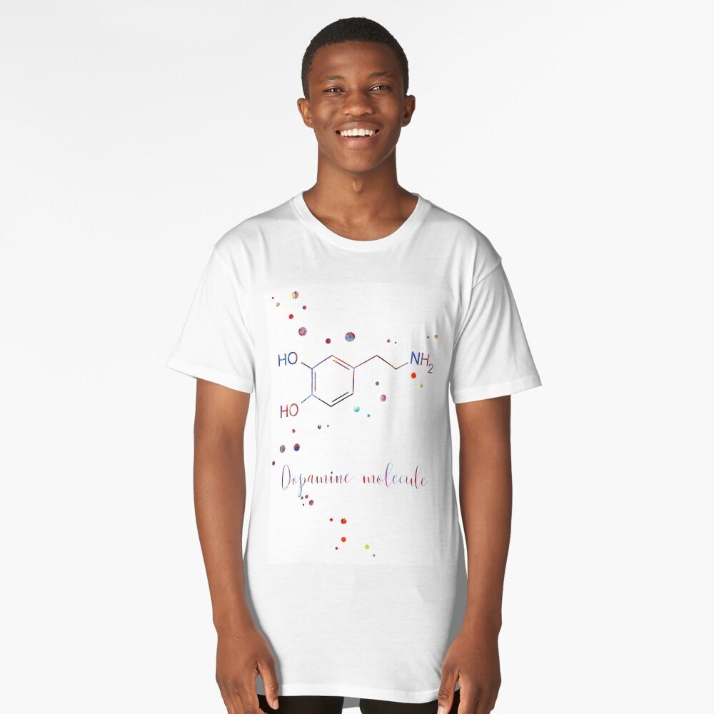 Dopamine Molecule Hormone Watercolor Molecule Watercolor Dopamine