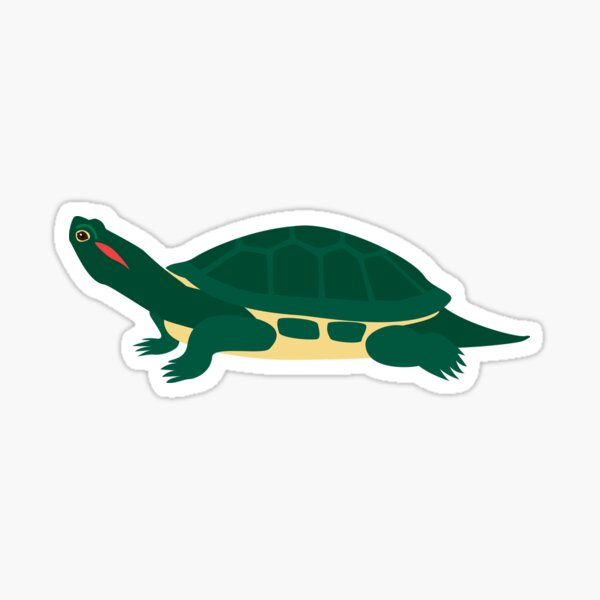 Red-Eared Slider Sticker