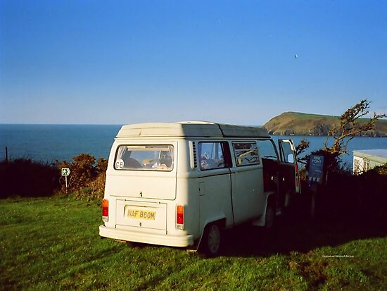 Camping in Wales by Charmiene Maxwell-Batten