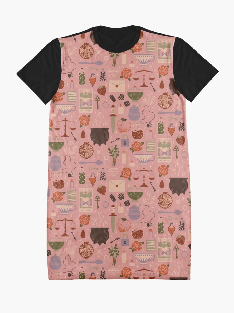 Alternate view of Love Potion Graphic T-Shirt Dress