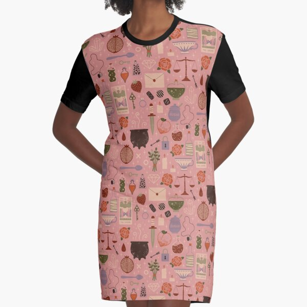 Love Potion Graphic T-Shirt Dress