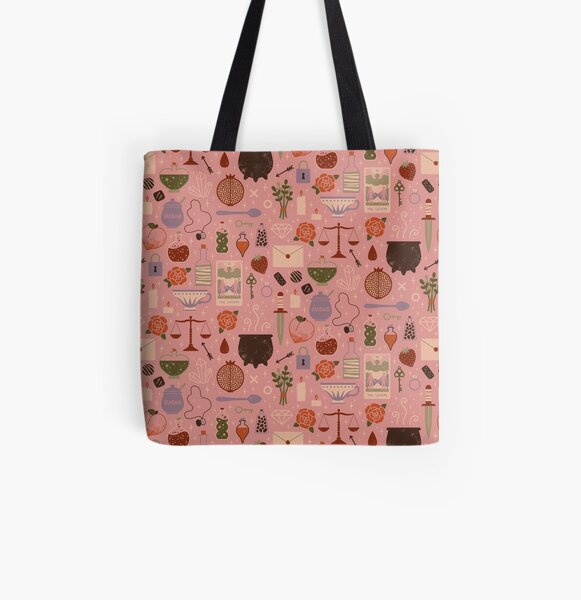 Love Potion All Over Print Tote Bag
