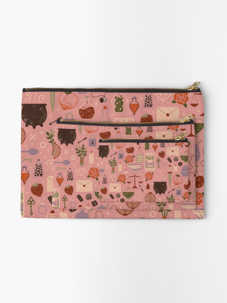 Alternate view of Love Potion Zipper Pouch