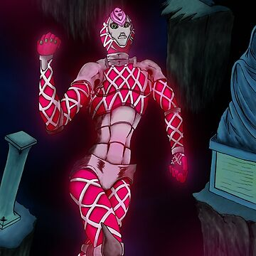 Jojo - King Crimson Stand by Akazoku