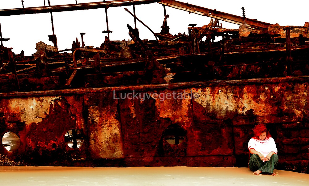 I still live by the wreck of us by Luckyvegetable