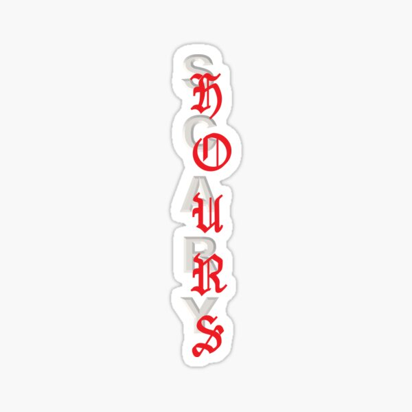 Scary Hours Sticker