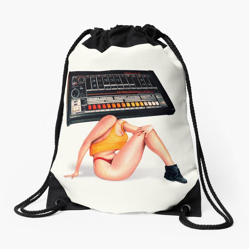 808 Dream Date Drawstring Bag