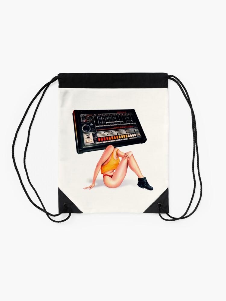 Alternate view of 808 Dream Date Drawstring Bag