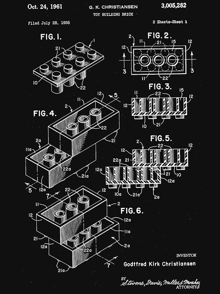 Original Lego US-Patent von the-elements