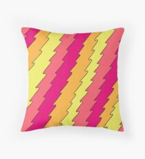 Broad City Inspired Waves Throw Pillow