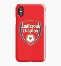 Ludicrous Display iPhone Case