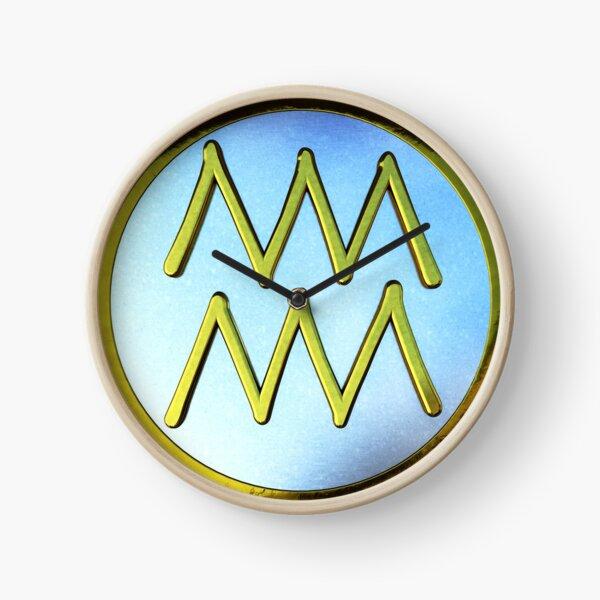 Aquarius Glyph Clock