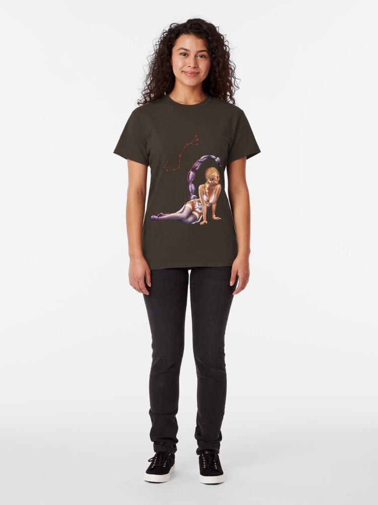 Alternate view of Scorpio OC - 12 Zodiac Ladies Classic T-Shirt