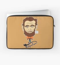 Wolfraham Lincoln Laptop Sleeve